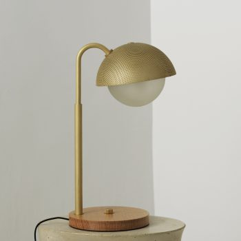 Allied Maker Perforated Dome Table Lamp